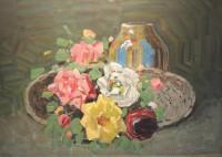 04 rudolf bartles rosen mit weidenkorb