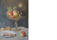 11 rudolf bartels stillleben mit fruchteschale