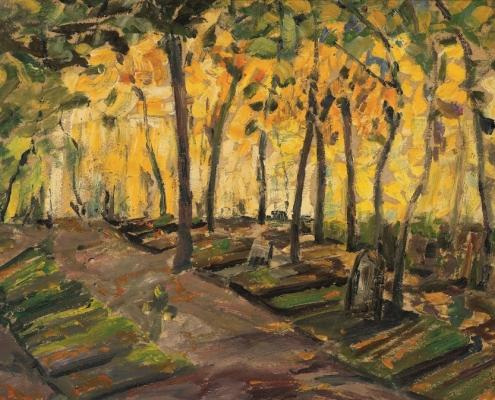 Alfred Heinsohn, Friedhof