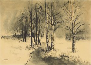 37 otto tarnogrocki birken im winter