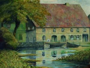 Stadtmühle, Willi Möller, 1945